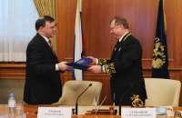 Подписание соглашения о сотрудничестве со Счётной палатой Российской Федерации<br>